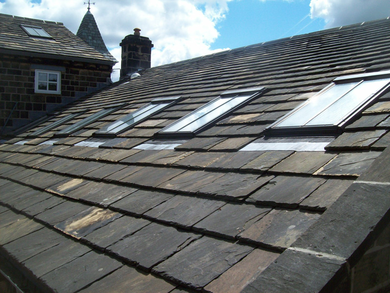 Heritage Roof Work In Wharfedale Croft Roofing Limited