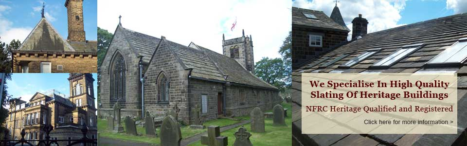 Wharfedale Roofers - Heritage Roof Work